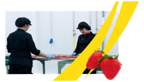 Elaboración con fruta natural